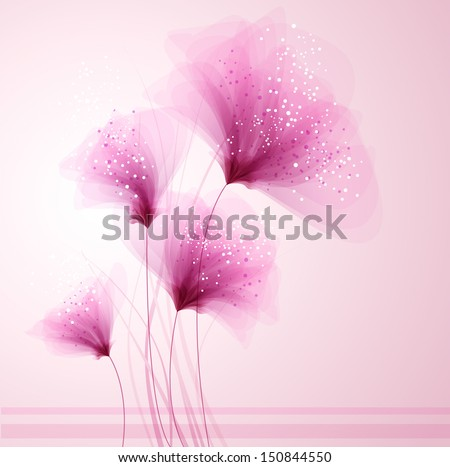 vector background with pastel