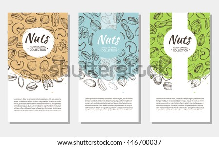 vector background with sketches