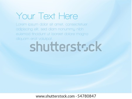 Vector background with smooth blue gradients for a corporate feel.