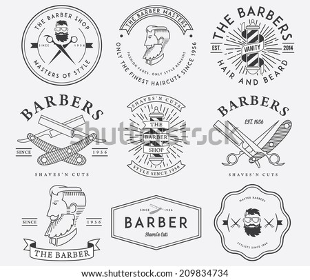 vector badges for any use