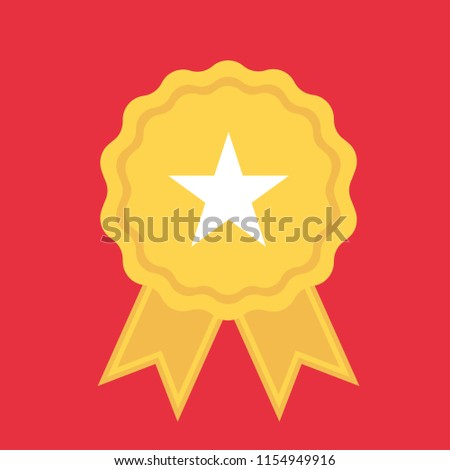 Iconswebsite icons website search over 28444869 icons icon certified vector badges template isolated on white background award badge icons in flat style maxwellsz