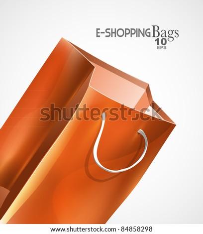 Vector bag background