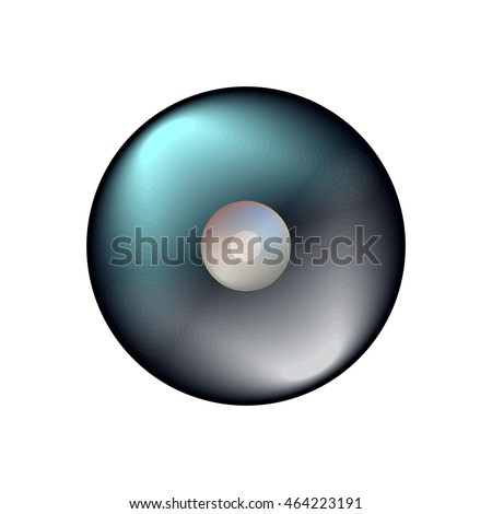 vector ball icon for play in