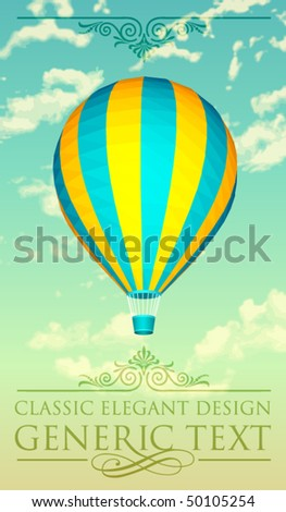 vector balloon