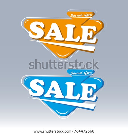 Vector Banner Color Illustration #764472568