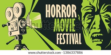 vector banner for a festival