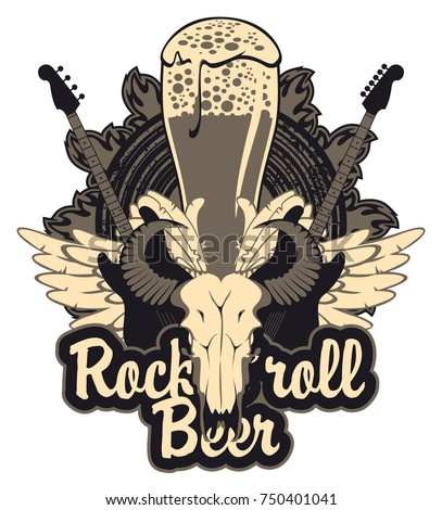 vector banner for a rock pub