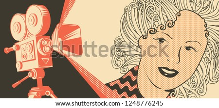 vector banner on the theme of
