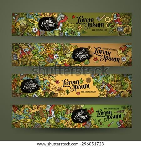 vector banner templates set