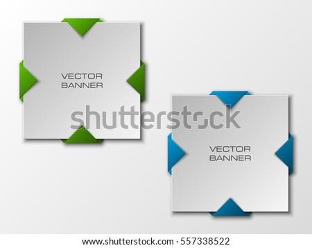 vector banner the original