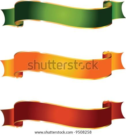 Vector banners - stock vector