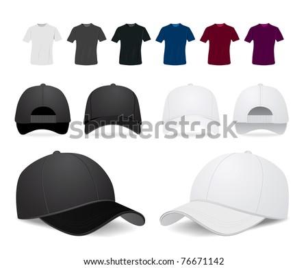 stock-vector-vector-baseball-cap-and-shirt-illustration-on-white-background