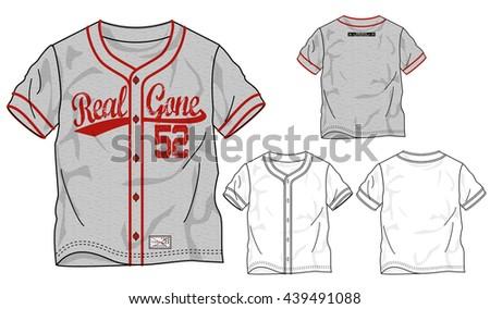 baseball uniform template vector free 123freevectors. Black Bedroom Furniture Sets. Home Design Ideas