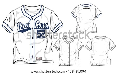 vector baseball elements isolated on white background