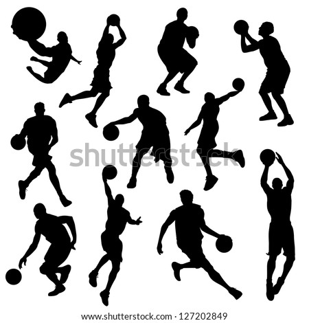stock-vector-vector-basketball-players-in-silhouettes