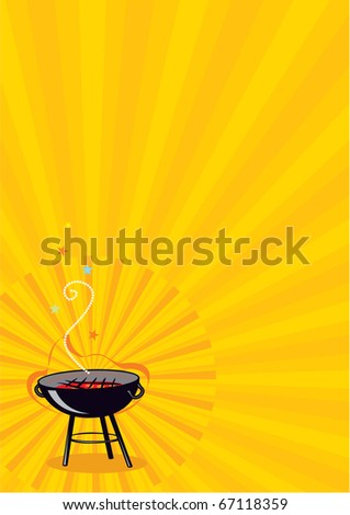 Vector BBQ Poster or Flayer