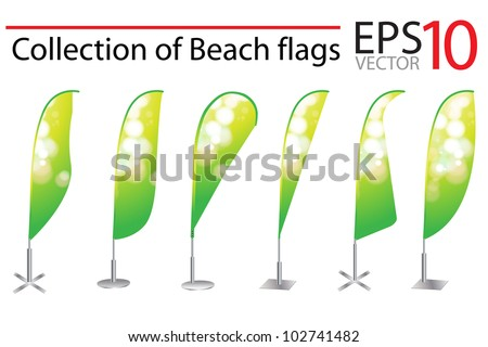 vertical flag banner template vector download free vector art