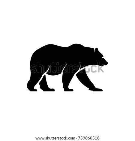 stock-vector-vector-bear-silhouette