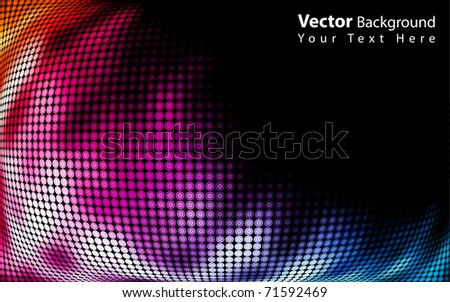 Vector beautiful abstract background