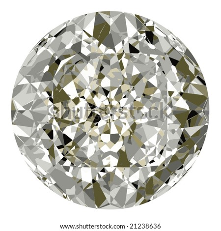 Vector Beautiful Diamond