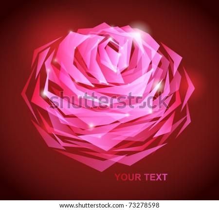 pink rose flower background. pink rose flower background