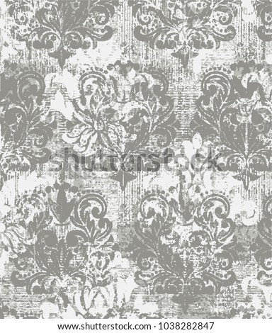 stock-vector-vector-beige-and-white-grunge-abstract-art-classic-luxury-and-elegant-style-pattern-background-in