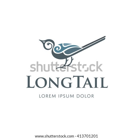 vector bird logo design
