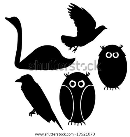 free love birds clipart. Vector Birds Clip-Art
