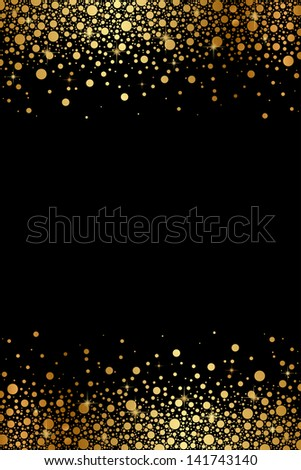 vector black and gold luxury