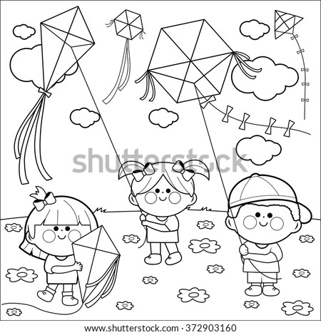 Squirrel Playing Football Coloring Page