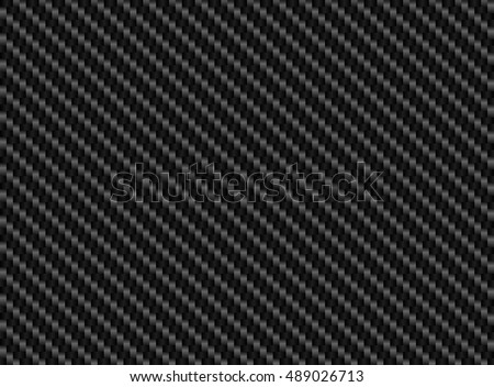 Vector black carbon fiber seamless background. Abstract cloth material wallpaper for car tuning or service. Endless web texture or page fill pattern