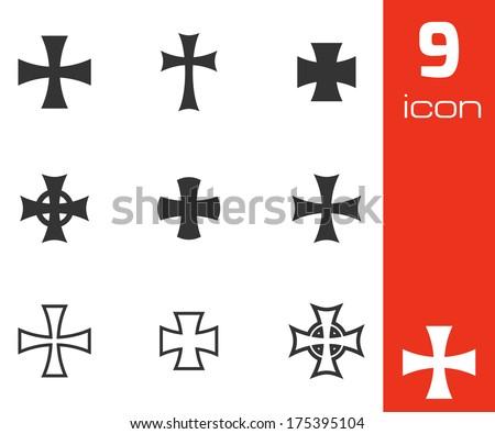 vector black choppers crosses