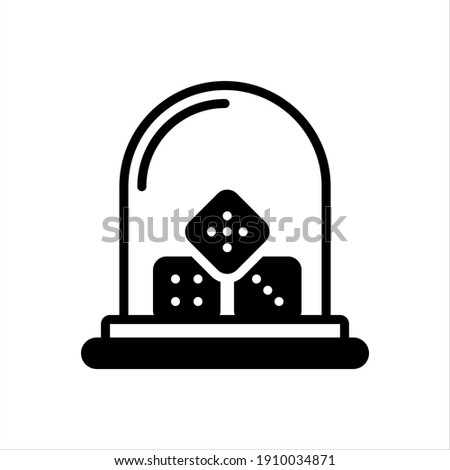 Vector black ion for sic Foto stock ©
