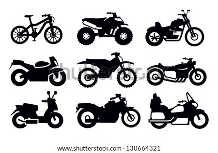 Motorcycle Icon Clipart Vector further BN5k 11095 besides Miscellaneous Vehicles Coloring Pages as well Line drawing likewise Search. on scooter for two people