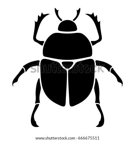 stock-vector-vector-black-silhouette-of-a-scarab-beetle-isolated-on-a-white-background