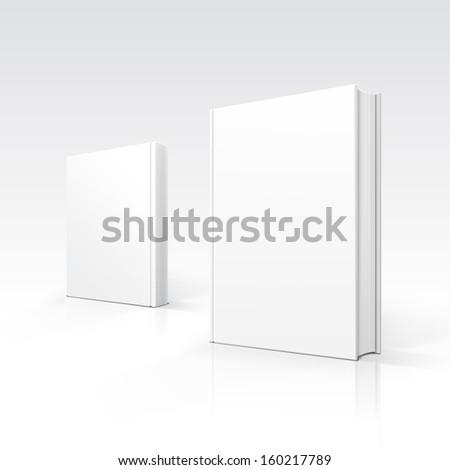 vector blank books