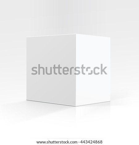 vector blank white square