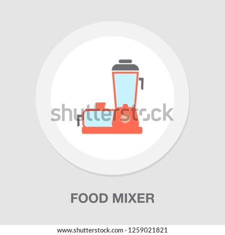 vector blender - food mixer