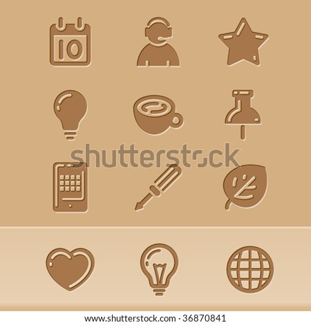 vector blog icons set2