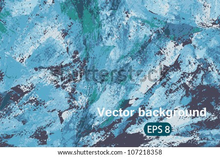 Vector blue abstract art background colorful pattern for texture, backdrop, design element, wallpaper,   illustration, decoration, banner, ornament, frame, print, image, decor, cute card, eps 8