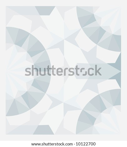 Vector blue and gray Mosaic Background