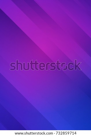vector blue and purple striped