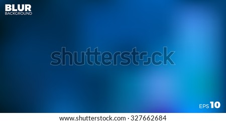 vector blue blur background