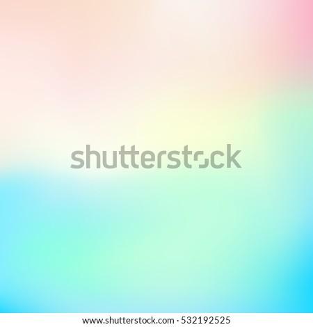 vector blue blurred gradient