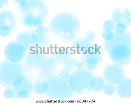 vector blue bokeh