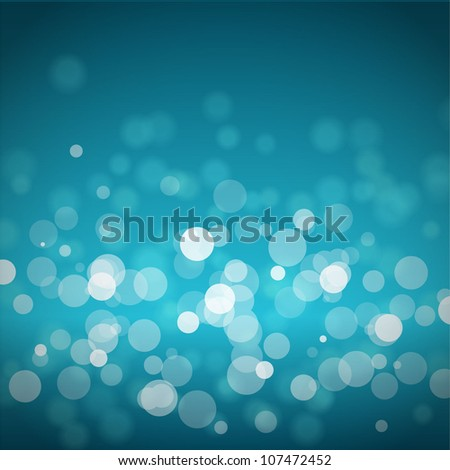 Bokeh Background Vector Vector Blue Bokeh Blur