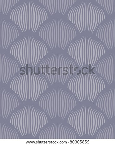 Vector blue-grey petals seamless pattern