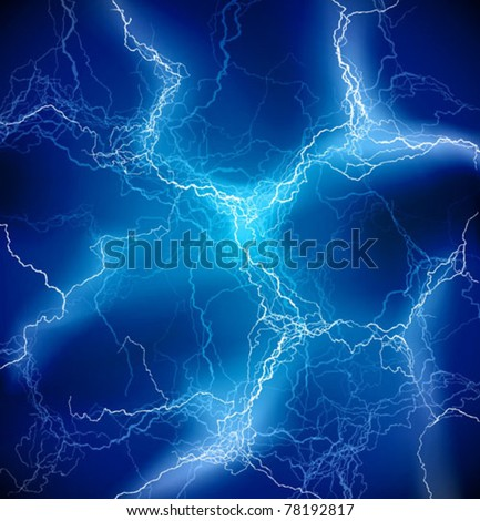 vector blue lighting background