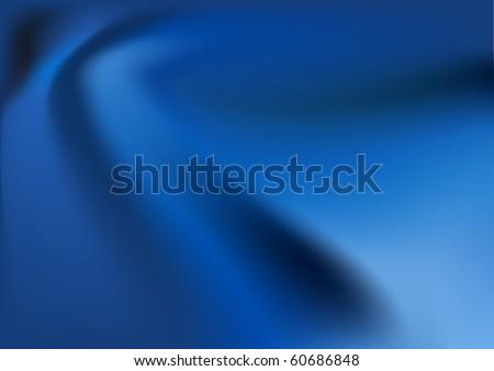 vector blue silk background