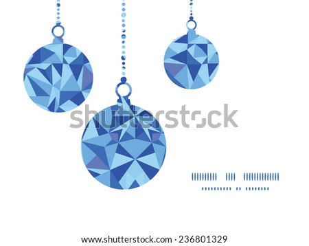 vector blue triangle texture